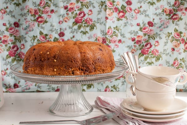 Best Blueberry Peach Coffee Cake