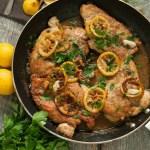 Light Lemon Chicken Piccata