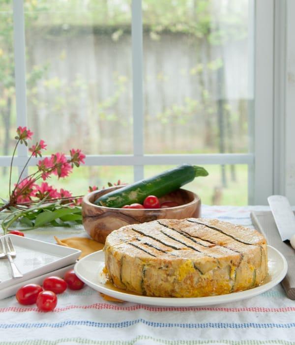 Zucchini Timbale