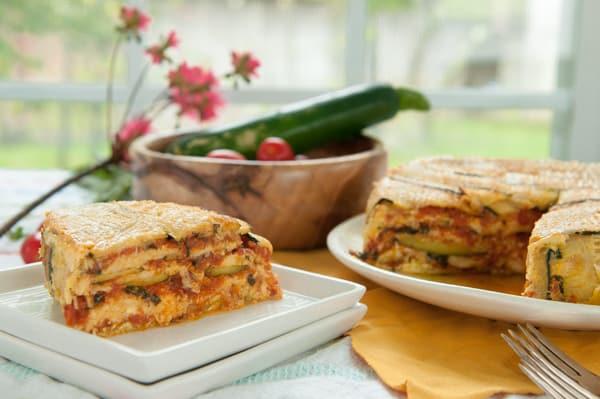 Low Carb Zucchini Lasagna