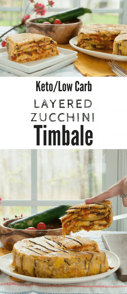 #Keto #Lowcarb #Zucchini Timbale or #lasagna is a delicious make ahead meal!
