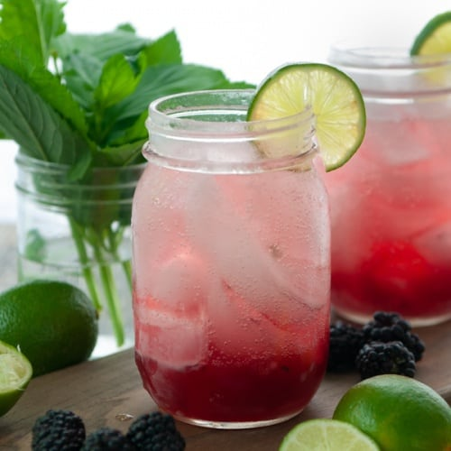 Blackberry Mint Mocktail