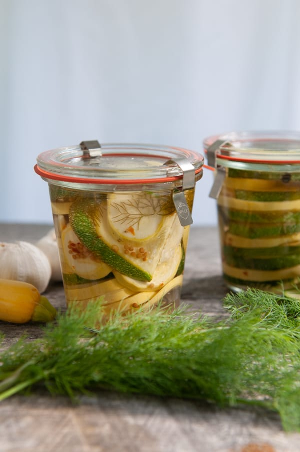 Spicy Fridge Pickles