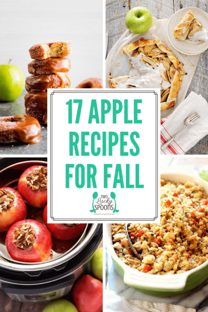 17 Apple Recipes To Celebrate Fall Graphic