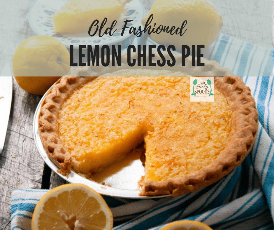 Deep Dish Chess Pie Recipe