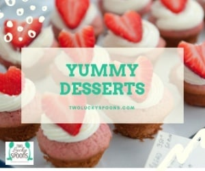 Yummy dessert graphic