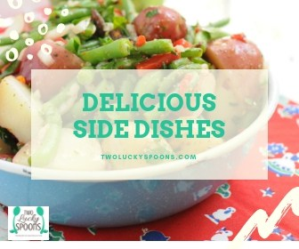 Delicious Side dishes graphic