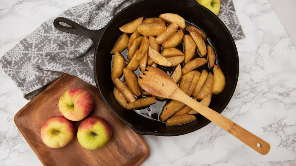 Southern Cast Iron Fried Apples