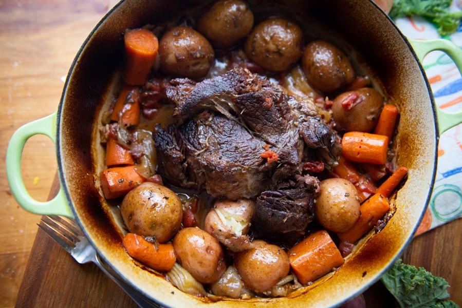 Old Fashioned Pot Roast