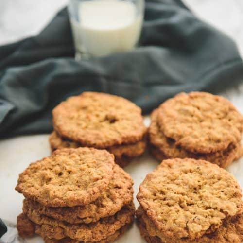 Ranger Cookies with Rice Krispies