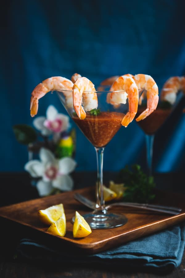 Classic Shrimp Cocktail With Keto Cocktail Sauce
