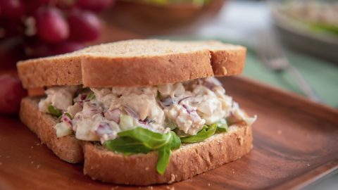 Easy Chicken Salad with Grapes