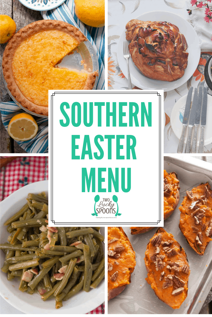 Traditional Southern Easter Menu