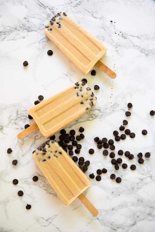Keto Chocolate Chip Popsicles