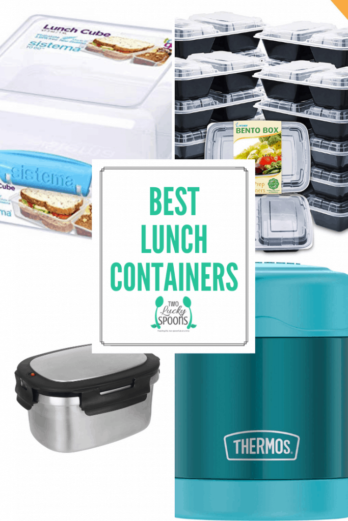Best Lunch Containers graphic